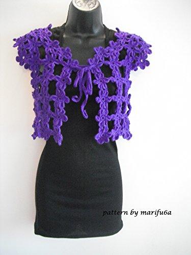crochet pattern easy bolero shrug for beginners nr 18: crochet pattern easy bolero shrug for beginners nr 18 (English Edition)
