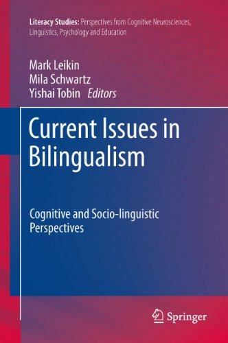 Current Issues in Bilingualism: Cognitive and Socio-linguistic Perspectives: 5 (Literacy Studies) Pdf