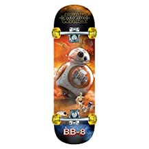 Star Wars Episode VII Skateboard - Complete & Ready To Ride Popsicle Board