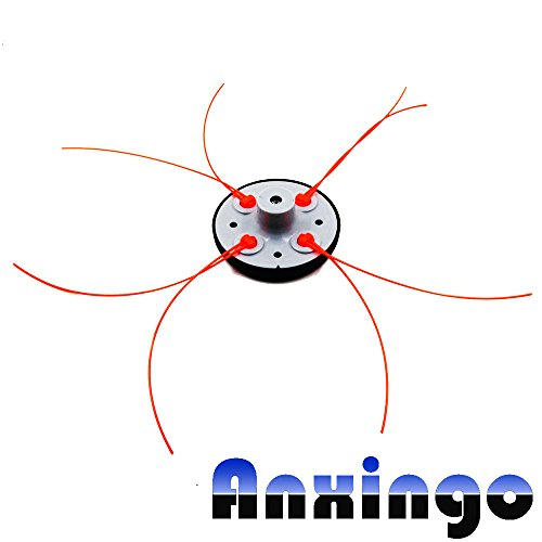 Anxingo for Pivo - Trim trimmer Head Fits all gas trimmers (Fixed Line Trimmer Head)