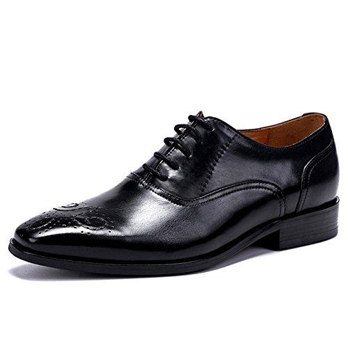 Hommes Chaussures en Cuir Printemps Automne Chaussures Formelles Bullock Chaussures Mode Oxford Chaussures de Marche Split Joint pour Mariage Bureau & Carrière B
