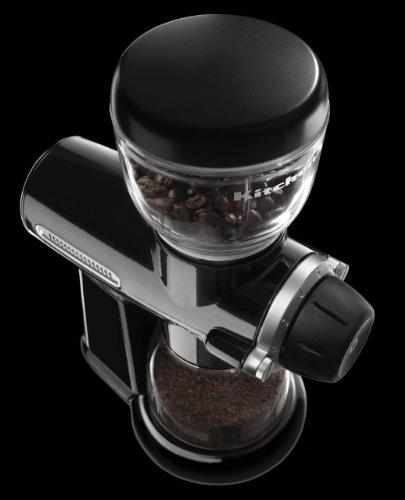 KitchenAid Pro Line Series Burr Coffee Mill, Onyx Black