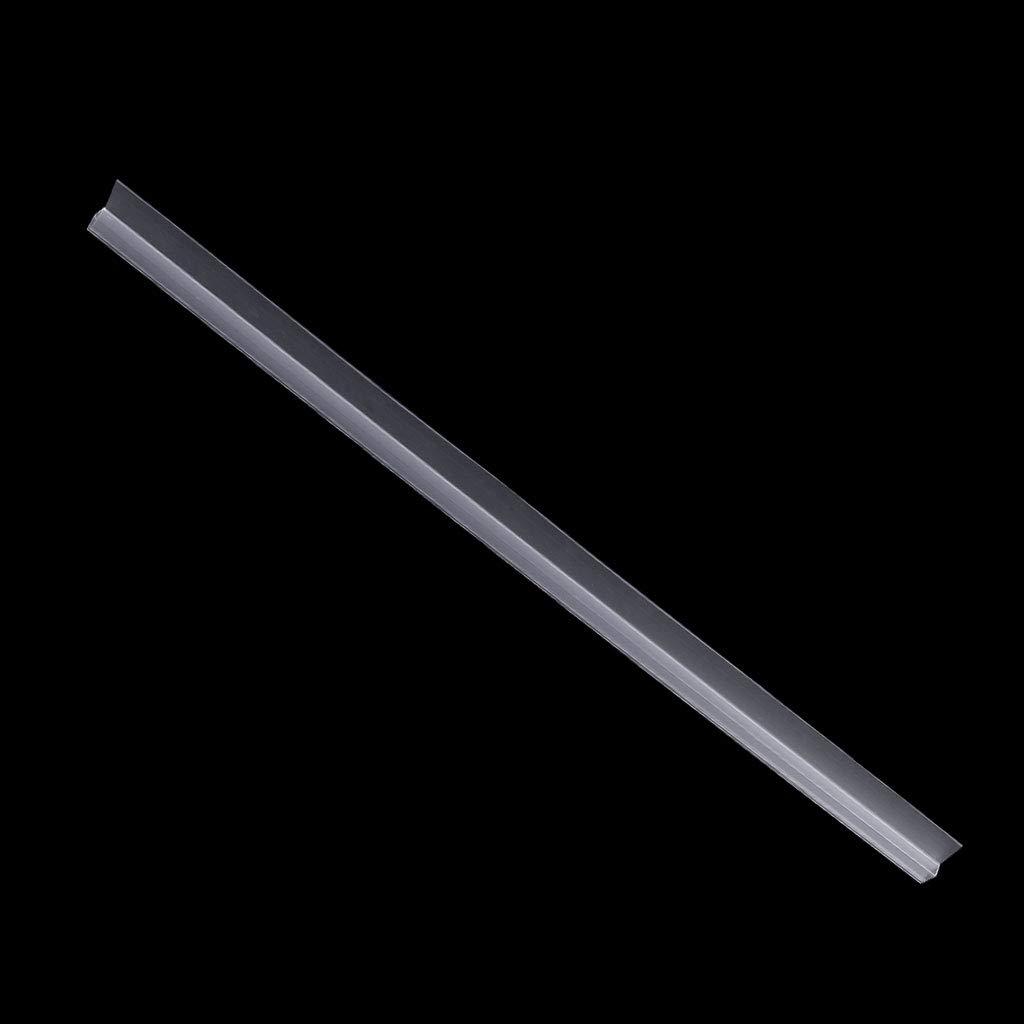 hoxin /Écran de Douche en PVC Joint d/étanch/éit/é de Bande Doublure leau de Bain Bouchon en Verre Bande d/étanch/éit/é