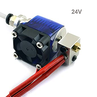 RepRap Champion Fusor para impresora 3D, V6, 24 V, 1,75 mm, 0,4 mm ...