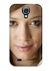 Protective Tpu Case With Fashion Design For Galaxy S4 (alyssa Milano Celebrity)