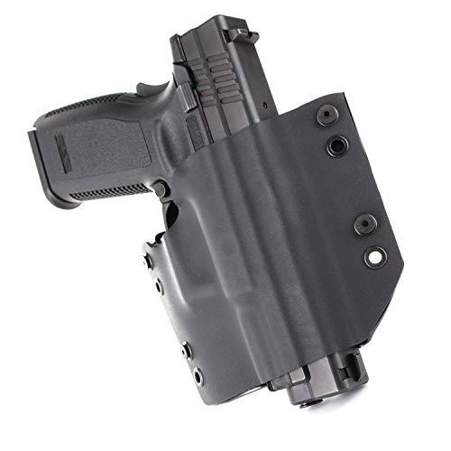 OWB Holster - Black (Left-Hand, Glock 19 Gen 5)