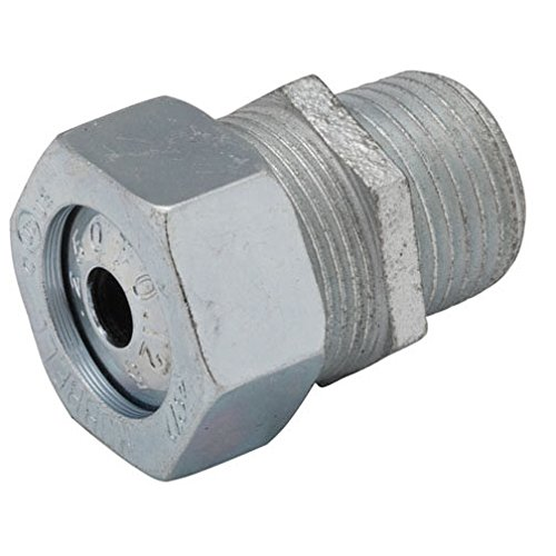 Hubbell-Raco 3782-5B2 Liquidtight Strain Relief Connector (2 Pack), 3/8-1/2-Inch by Hubbell (Image #1)