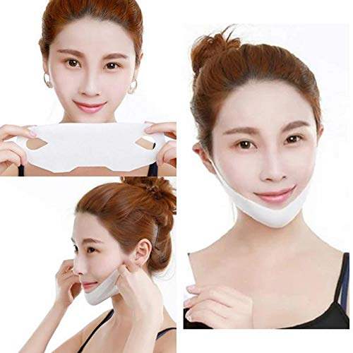 Facial Slimming Bandage Mask, Lifting Band Patch for Face and Chin Line, Reduce Double Chin, Double Chin Mask V Lifting Chin Mask Chin Up Mask, 1/Pack
