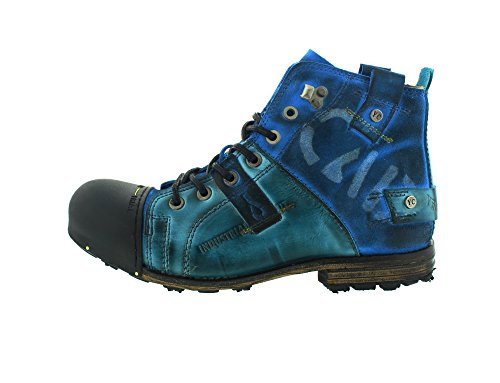 YELLOW CAB - Boots - INDUSTRIAL 15012 - light blue Light Blue