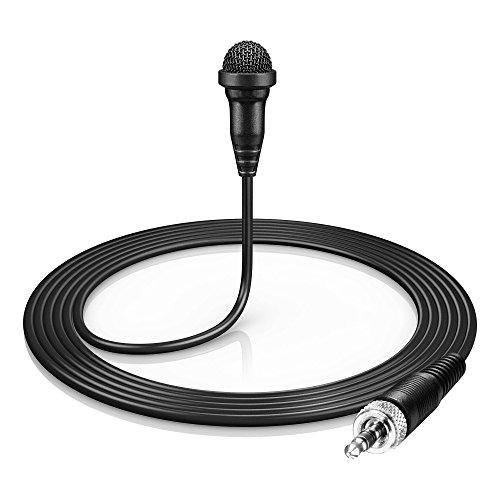 Sennheiser ME 2-II Omnidirectional Lavalier Microphone (Black) (Sennheiser Mic Omnidirectional)
