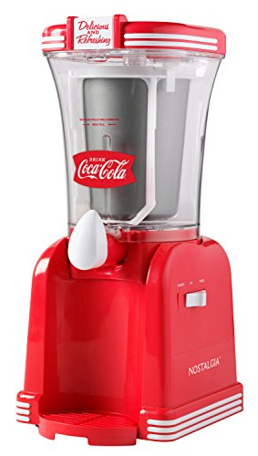 Nostalgia RSM650COKE 32- Ounce Slush Drink Maker, 32 oz, Coke Red
