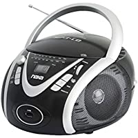 NAXA Electronics NPB-246 Portable MP3/CD Player with AM/FM Stereo Radio and USB Input