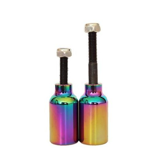 Downside Scooter Pegs Neochrome (pair)