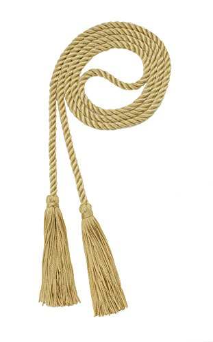 HONOR CORD OLD GOLD - TASSEL DEPOT BRAND - MADE IN - Rope Gold Belt