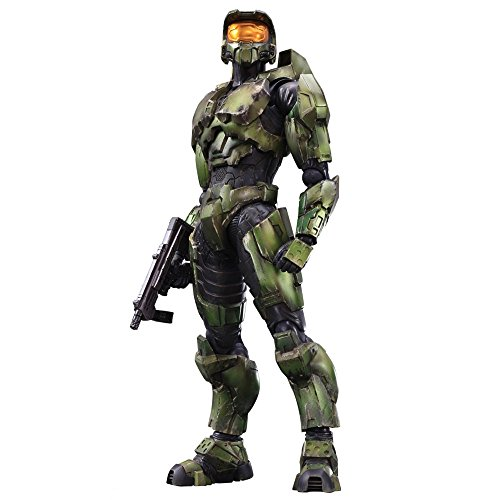 Square Enix Play Arts Kai Master Chief Halo 2 Anniversary Edition Action Figure ()