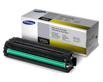 Original Samsung© CLT-Y504S Yellow Toner Cartridge - 1,800 Yield  samsung y504s | Refill Samsung CLP-415, CLT-Y504S, CLT-C504S, CLT-M504S, CLT-K504S toner 41V3KTeh 2BLL