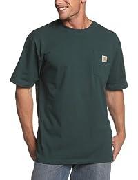 Carhartt mens Big & Tall Workwear Pocket Short-Sleeve T-Shirt Original Fit K87