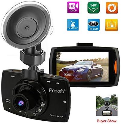 ダッシュライブチャット、FHD 1080P車のカメラドライビングレコーダー、モーション検知、Gセンサー、ループ・レコーディング、ナイトビジョン