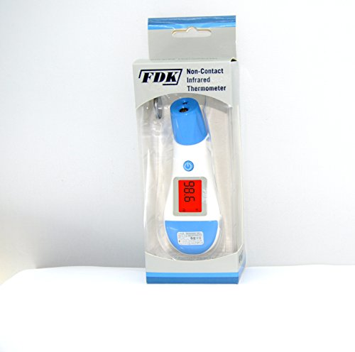 FDK NON CONTACT IR THERMOMETERS (2-COLOR BACKLIT DISPLAY)