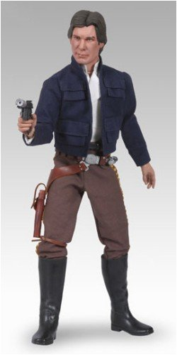 Sideshow Heroes of the Rebellion Collectibles Star Wars Deluxe 12 Inch Action Figure Bespin Han (Han Solo Costume Gun)
