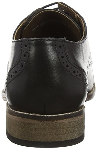Basse Black Stringate Nero Hargreaves Brogue Lotus Scarpe Uomo qtOHgv