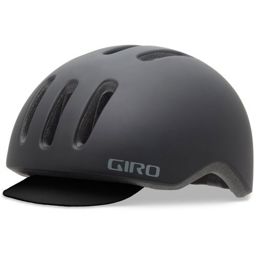 Giro Casco Urbano Reverb sin Visera con Gorrita, color Negro, Mediano, 55-59 cm