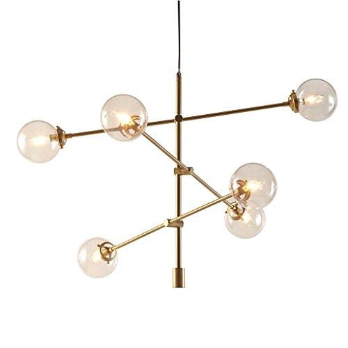 Century modern chandelier with 6 oversized bulbs includes mid century modern chandelier with 6 oversized bulbs includes modhaus living pen mozeypictures Choice Image