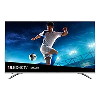 Hisense 65-Inch 4K Ultra HD Smart LED TV 65H9080E (2018), Gray Metal