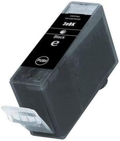 SuppliesMAX Compatible Replacement for Canon BJC-3000//6000//6500//i550//860//S400//S4500 Black Inkjet BCI-3eBK 4479A002 600 Page Yield