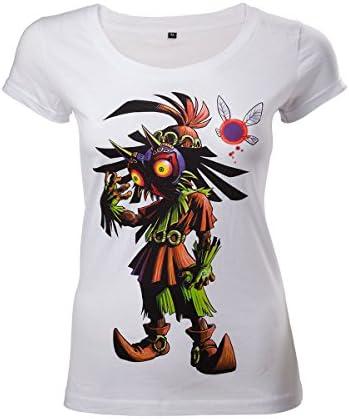 T-shirt Legend of Zelda dla kobiet, kolor: biały, rozmiar: Small: Odzież