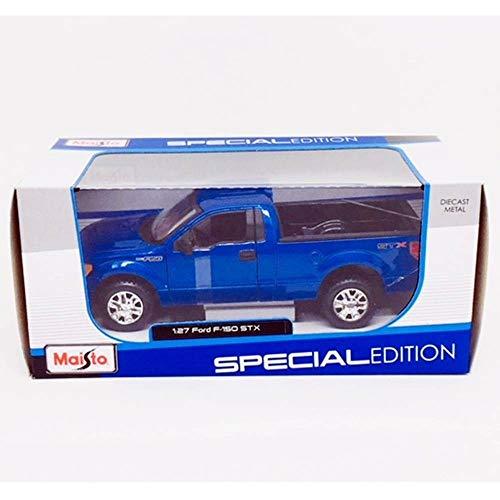 Maisto 1:27 Scale Metallic Blue 2010 Ford F-150 STX Diecast Vehicle