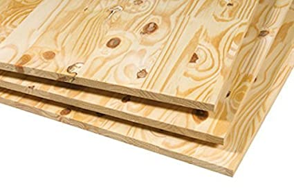 Softwood Plywood 18mm x 8x4ft, Wood, 8ft x 4ft (2440mm x 1220mm)
