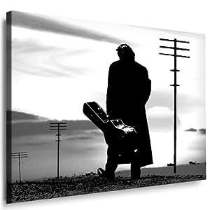 Impresión de Johnny Cash Imagen lienzo Imagen montado en bastidor/lienzo Imágenes, pared Imágenes,, Pop Art Cuadro, de–Póster decorativo imágenes