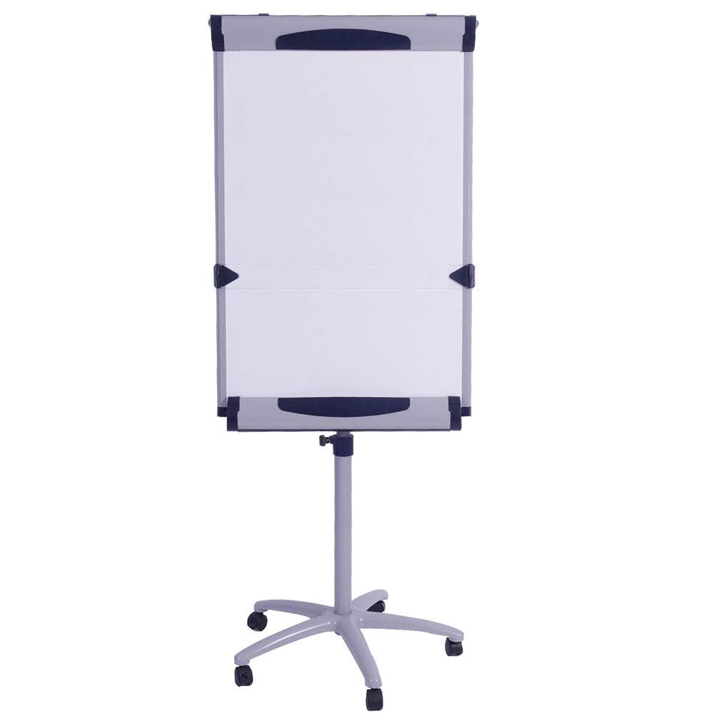 VIZ-PRO Dolphin Magnetic Mobile Whiteboard/Flipchart Easel, 28 X 40 Inches by VIZ-PRO