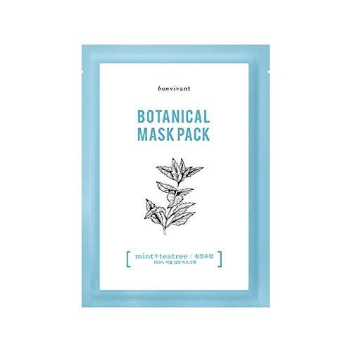bonvivant-botanical-real-mask-mint-tea-tree-10-ea