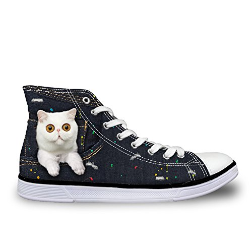 cat Coloranimal Montants femme white 7 PttZwFO