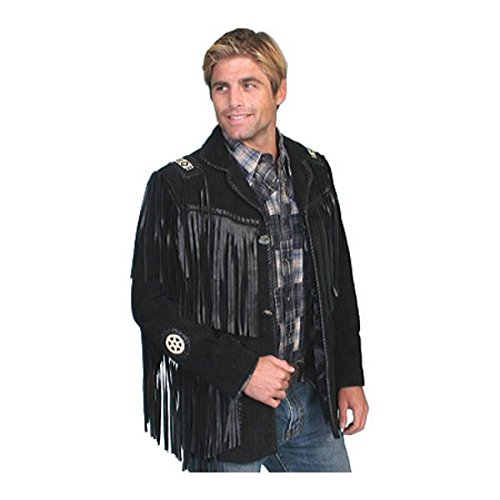 [スカーリー] メンズ ジャケット&ブルゾン Handlaced Bead Trim Coat 758 [並行輸入品] B07DHN6PTH 48