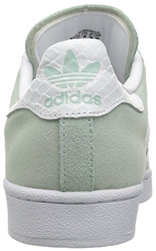 Adidas Originali Donna Superstar W Fashion Sneaker, Menta Ghiaccio F16 / Bianco / Bianco, 9,5 M Us