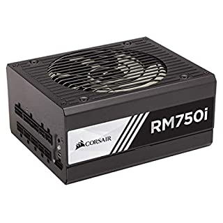 Corsair RMi Series, RM750i, 750 Watt, 80+ Gold Certified, Fully Modular - Digital Power Supply (B00YPNSQTU) | Amazon price tracker / tracking, Amazon price history charts, Amazon price watches, Amazon price drop alerts