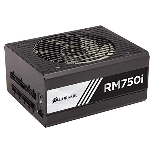 (Corsair RMi Series, RM750i, 750 Watt, 80+ Gold Certified, Fully Modular - Digital Power Supply)