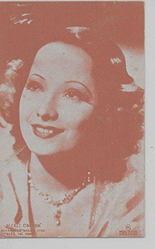 Actress Film (Merle Oberon Anglo-Indian film actress arcade card antique pc Z44484)