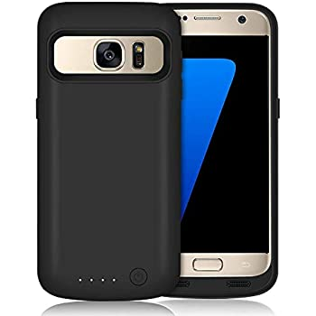 Amazon.com: Galaxy S7 Edge Battery Case, NOVPEAK 5000mAh ...