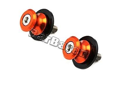 10mm Swingarm Spools Sliders For KTM 125//200//390 Duke RC125 RC200 RC390