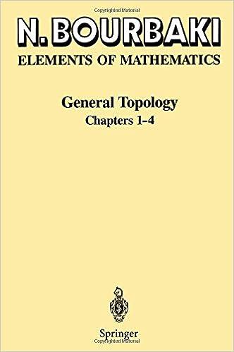General Topology: Chapters 1-4 (Ettore Majorana