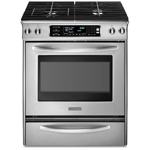 Exceptionnel KitchenAid Architect Series II : KDSS907SSS 30 Slide In Dual Fuel Range    Stainless Steel