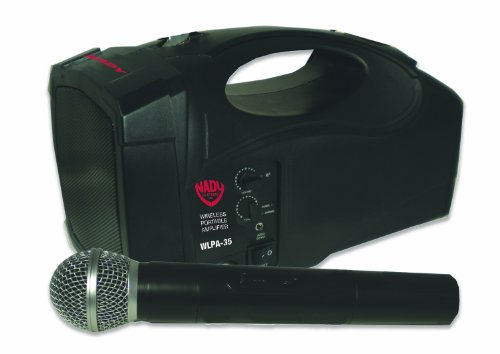 Nady WLPA-35 35-Watt Amplifier and 5-Inch Speaker Portable Wireless PA System