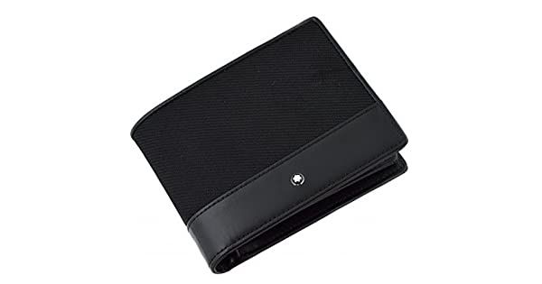 Amazon.com: Montblanc nightflight 12 CC portafolios, color negro