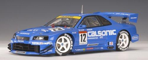1/18 日産 スカイライン GTR(R34) '02 JGTC #12(カルソニック) 80276