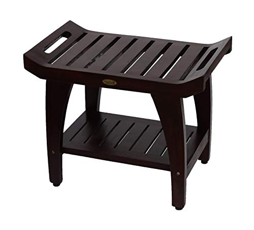 Decoteak Tranquility Shower Bench, 24