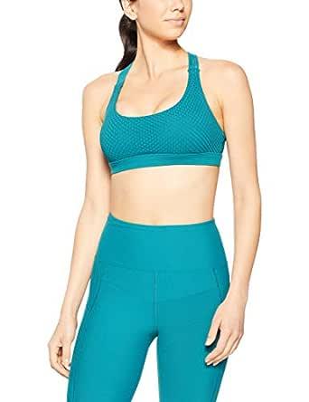 Lorna Jane Women's Infusion Mesh Sports Bra, Amazon Green, XS
